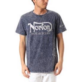ノートン Norton ウォッシュ加工TEE (インディゴ)