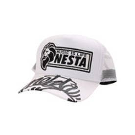 ネスタブランド Nesta Brand ワッペンメッシュキャップ (シロ)