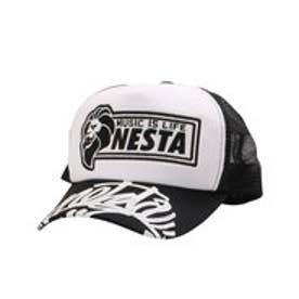 ネスタブランド Nesta Brand ワッペンメッシュキャップ (クロ)