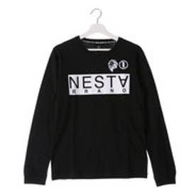 ネスタブランド Nesta Brand ベーシックロンTee (クロ)