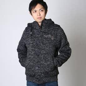 ネスタブランド Nesta Brand ポリエステル杢裏ボア2wayJKT (クロ)
