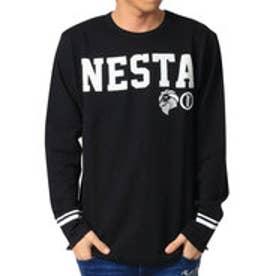 ネスタブランド Nesta Brand ミニ裏毛ロンTee (クロ)