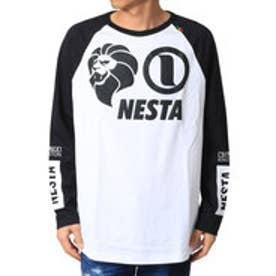 ネスタブランド Nesta Brand BIGシルエットロンTee (シロ)