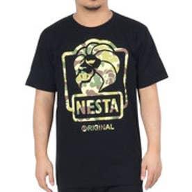 ネスタブランド Nesta Brand Boxed Lion Tee (クロ)