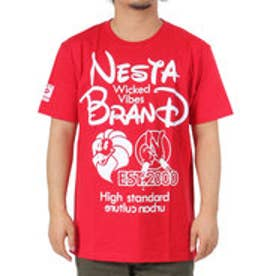 ネスタブランド Nesta Brand ポップロゴT (アカ)