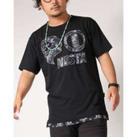 ネスタブランド Nesta Brand バンダナ柄Tシャツ (クロ)