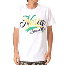 ネスタブランド Nesta Brand フラッグステッチTEE (シロ)