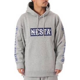 ネスタブランド Nesta Brand ビックシルエットプルパーカー (M.グレ-)