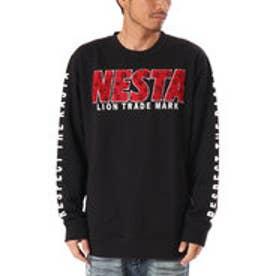 ネスタブランド Nesta Brand モノグラムサガラトレーナー (クロ)
