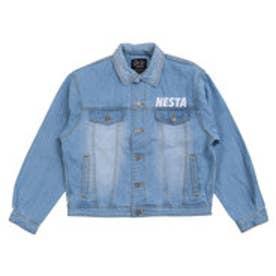 ネスタブランド Nesta Brand オーバーサイズデニムジャケット (ブリ-チ)