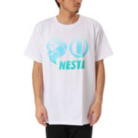 ネスタブランド Nesta Brand 吸水速乾グラデーションベーシックロゴTEE (シロ)