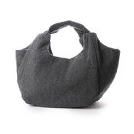 カンペール CAMPER VALLDEMOSSA TWEED ハンドバッグS (チャコールグレー)