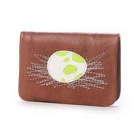 カンペール CAMPER JURA 2ツ折財布 (チョコレートブラウン)