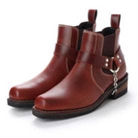 アルファ インダストリーズ ALPHA INDUSTRIES Western Ring Boots (ダークブラウン)