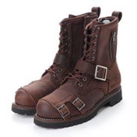 アルファ インダストリーズ ALPHA INDUSTRIES 9 Hole Biker Boots (モカ ブラウン)