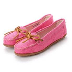 ミネトンカ Minnetonka CANBAS Moccasin Shoes リミテッドエディション【限定生産品】 (ピンク)