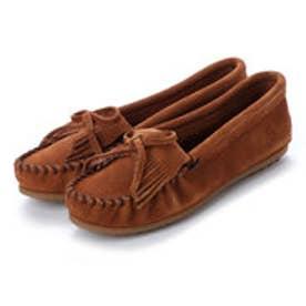 ミネトンカ Minnetonka KILTY Suede Moccasin Shoes (ブラウン)