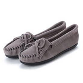ミネトンカ Minnetonka KILTY Suede Moccasin Shoes (グレー)
