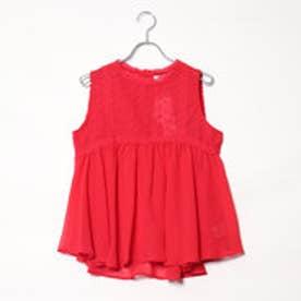 エムズエキサイト Emsexcite 刺繍ノースリーBL (RED3)