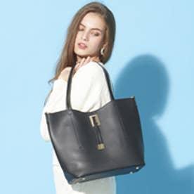 フィラノ FIRANO 【STORY5月号/ミセス掲載】スクエアチャーム付ビッグトートバッグ(Bag in Bag付) (BLACK)