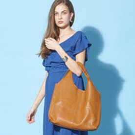 フィラノ FIRANO 【GINGER掲載】ソフトスクエアトートバッグ(Bag in Bag付) (CAMEL)