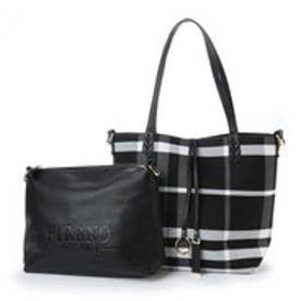 フィラノ FIRANO トラッドチェックリバーシブルトートバッグ(Bag in Bag付) (BLACK)