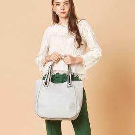 【大人気! HIT ITEM】フィラノ FIRANO 【GINZA掲載】スキマハンドル2WAYバッグ(Bag in Bag付) (GRAY)