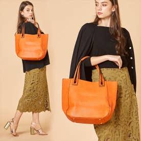 【大人気! HIT ITEM】フィラノ FIRANO 【GINZA掲載】スキマハンドル2WAYバッグ(Bag in Bag付) (ORANGE)