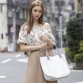 【大人気! HIT ITEM】フィラノ FIRANO 【GINZA掲載】スキマハンドル2WAYバッグ(Bag in Bag付) (WHITE)