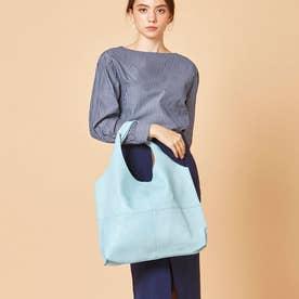 【大人気‼︎ HIT ITEM】フィラノ FIRANO 【GINGER掲載】ソフトスクエアトートバッグ(Bag in Bag付) (L.BLUE)