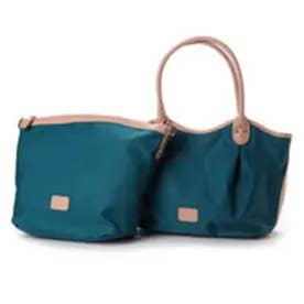 フィラノ FIRANO 【GLOW掲載】ホリディライン 3way トートバッグ (BLUE GREEN)