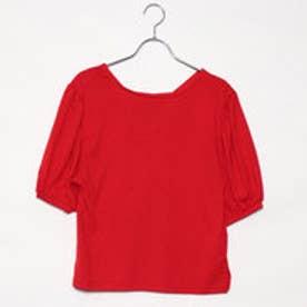 レトロガール RETRO GIRL 2WAYバルーン袖CT (RED)