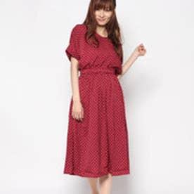 レトロガール RETRO GIRL 2WAY 総柄 OP (RED)