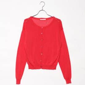 レトロガール RETRO GIRL 袖刺繍フレア/SCT (RED)