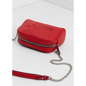 マンゴ MANGO Engraved message bag (red)