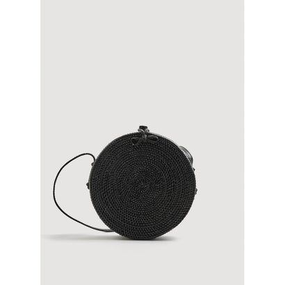 ハンドバッグ P-- LUNA (ブラック)