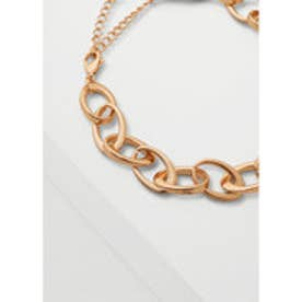 MANGO Link chain necklace (gold)