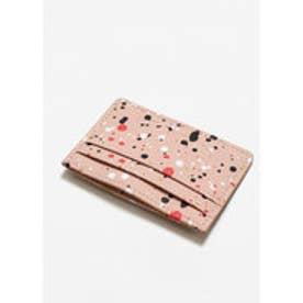 カードケース .-- SPLASH (ミディアムピンク)
