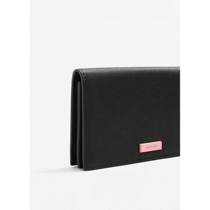 二つ折り財布 M-- GEO (ブラック)