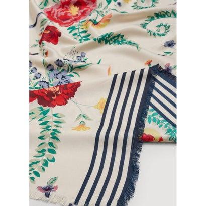 スカーフ .-- CALA (ライトベージュ)