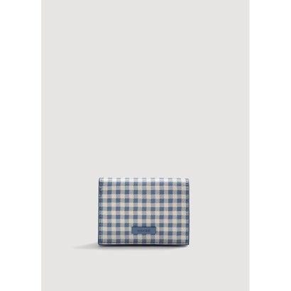 二つ折り財布 P-- VICKY (ミディアムブルー)
