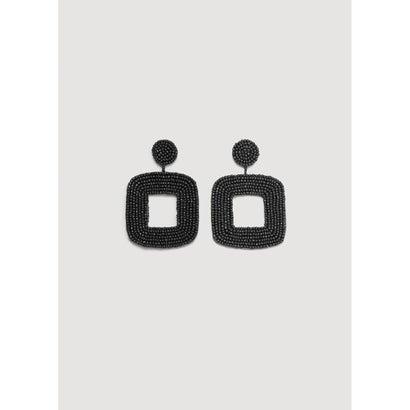 ピアス .-- UBUD (ブラック)