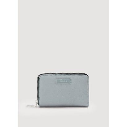 二つ折り財布 M-- BADU (ダークブルー)