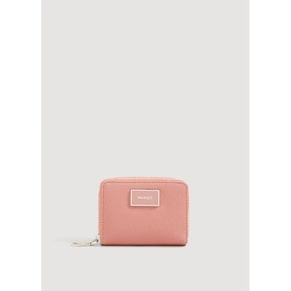 二つ折り財布 P-- LOLE (ピンク)