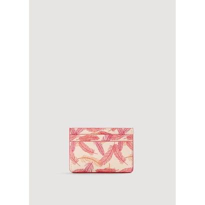 カードケース P-- PLUMAS (ライトベージュ)