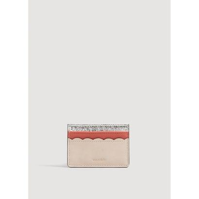 カードケース .-- HAPPY (ピンク)