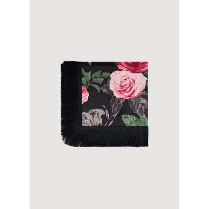 スカーフ .-- ROSE (ブラック)