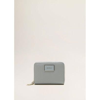 二つ折り財布 P-- LOLE (パステルブルー)