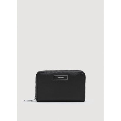 二つ折り財布 P-- BADU (ブラック)