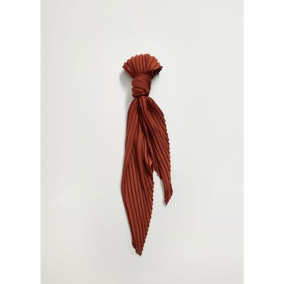 スカーフ .-- PLAIN (ダークブラウン)